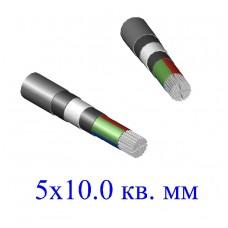 Кабель АВБбШв 5х10 кв.мм (ож)- 0.66
