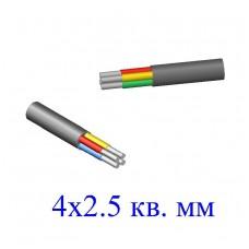 Кабель АВВГ 4х2,5 кв.мм (ож)-0,66