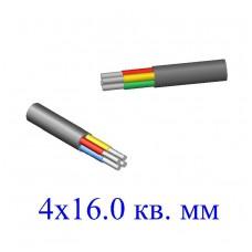 Кабель АВВГ 4х16,0 кв.мм (ож)-0,66