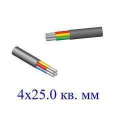 Кабель АВВГ 4х25,0 кв.мм (ож)-0,66