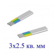 Кабель АВВГ-П 3х2,5 кв.мм (ож)-0,66