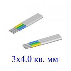 Кабель АВВГ-П 3х4,0 кв.мм (ож)-0,66