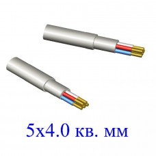Кабель NYM 5х4,0 кв.мм