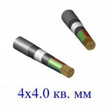 Кабель ВБбШв 4х4,0 кв.мм (ож)-0,66
