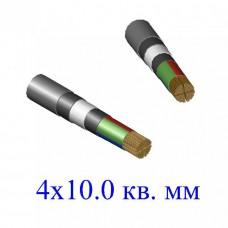 Кабель ВБбШв 4х10,0 кв.мм (ож)-0,66