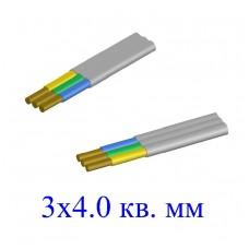 Кабель ВВГ-П 3х4,0 кв.мм (ож)-0,66