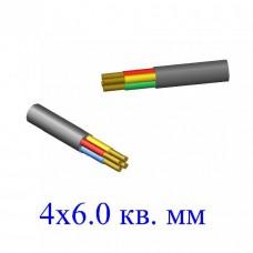 Кабель ВВГнг 4х6,0 кв.мм ОЖ-0,66