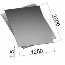 Лист холоднокатаный 1,5х1250х2500