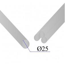 Круг нержавеющий калиброванный AISI 304 D=25