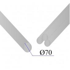 Круг нержавеющий калиброванный AISI 304 D=70