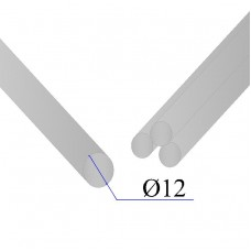 Круг нержавеющий калиброванный AISI 304 D=12