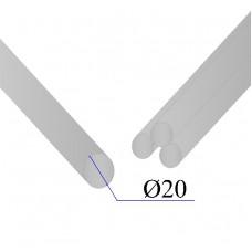 Круг нержавеющий калиброванный AISI 304 D=20