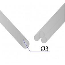 Круг нержавеющий калиброванный AISI 304 D=3
