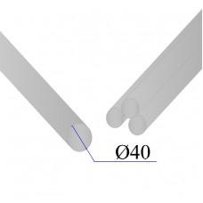 Круг нержавеющий калиброванный AISI 304 D=40