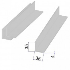 Уголок AISI 304 г/к 35х35х4