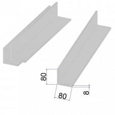 Уголок AISI 304 г/к 80х80x8