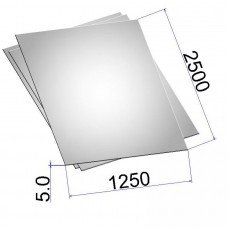 Лист стальной нержавеющий AISI 304 г/к 5х1250х2500