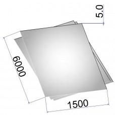 Лист стальной нержавеющий AISI 316Ti г/к 5х1500х6000