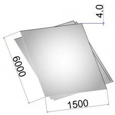 Лист стальной нержавеющий AISI 316Ti х/к 4х1500х6000