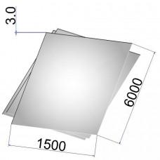 Лист стальной нержавеющий AISI 321 г/к 3х1500х6000