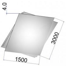 Лист стальной нержавеющий AISI 321 г/к 4х1500х3000