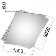 Лист стальной нержавеющий AISI 321 г/к 6х1500х6000