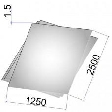 Лист стальной нержавеющий AISI 321 х/к 1.5х1250х2500