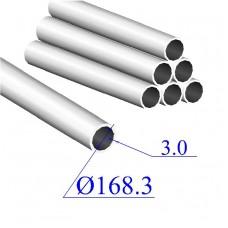 Труба круглая AISI 304 EN 10217-7 168.3х3 (Италия)