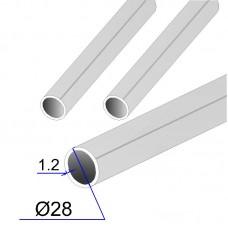 Труба круглая AISI 304 пищевая DIN 11850 28х1.2