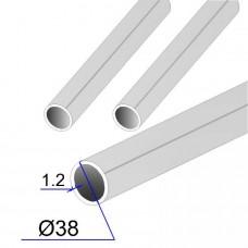 Труба круглая AISI 304 пищевая DIN 11850 38х1.2 (Италия)