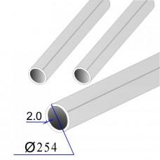Труба круглая AISI 304 пищевая DIN 11850 254х2 (Италия)
