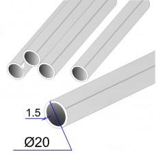 Труба круглая AISI 304 DIN 17457 шлифованная grit 320 20х1.5