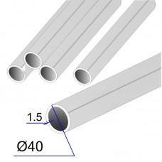 Труба круглая AISI 304 DIN 17457 зеркальная 40х1.5