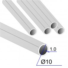 Труба круглая AISI 304 DIN 17457 10х1 (Италия)