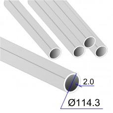 Труба круглая AISI 304 DIN 17457 114.3х2 (Италия)