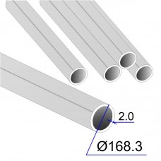 Труба круглая AISI 304 DIN 17457 168.3х2