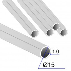 Труба круглая AISI 304 DIN 17457 15х1 (Италия)