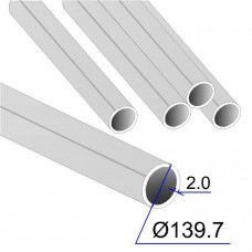 Труба круглая AISI 304 DIN 17457 139.7х2 (Италия)