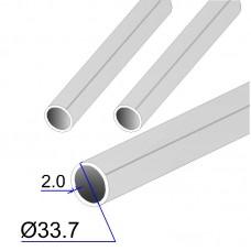 Труба круглая AISI 304L EN 10217-7 33.7х2.6