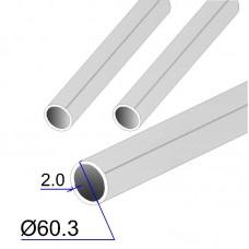 Труба круглая AISI 304L EN 10217-7 60.3х2