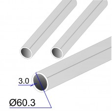 Труба круглая AISI 304L EN 10217-7 60.3х3