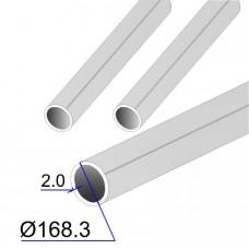 Труба круглая AISI 304L EN 10217-7 168.3х2 (Италия)