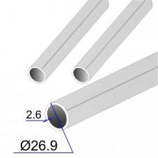 Труба круглая AISI 316 EN 10217-7 26.9х2.6 (Италия)