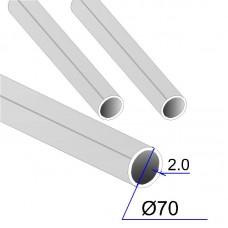 Труба круглая AISI 316L пищевая DIN 11850 70х2