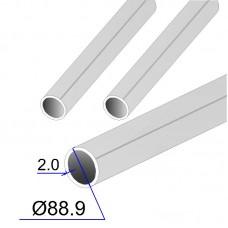 Труба круглая AISI 316L DIN 17457 88.9х2