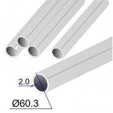 Труба круглая AISI 321 EN 10217-7 60.3х2