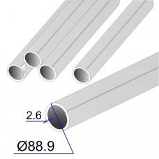 Труба круглая AISI 321 EN 10217-7 88.9х2.6 (Италия)