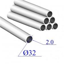 Трубы нержавеющие электросварные сталь 08Х18Н9 32х2