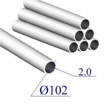 Трубы нержавеющие электросварные сталь 12Х18Н9 102х2