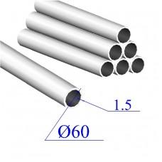 Трубы нержавеющие электросварные сталь 12Х18Н9 60х1.5